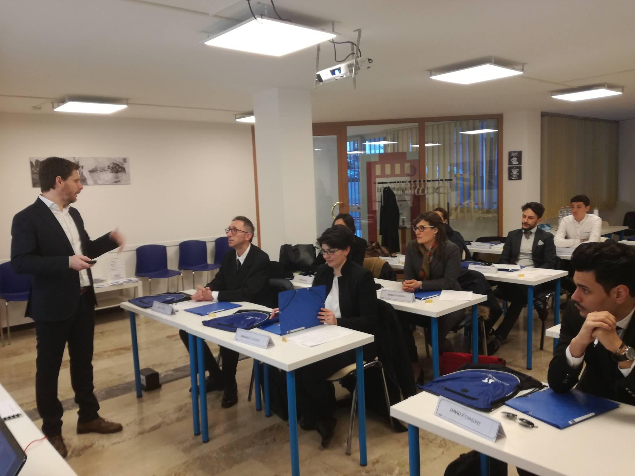aula scuola italiana turismo